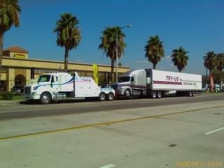 Big Rig Towing in Bakersfield CA